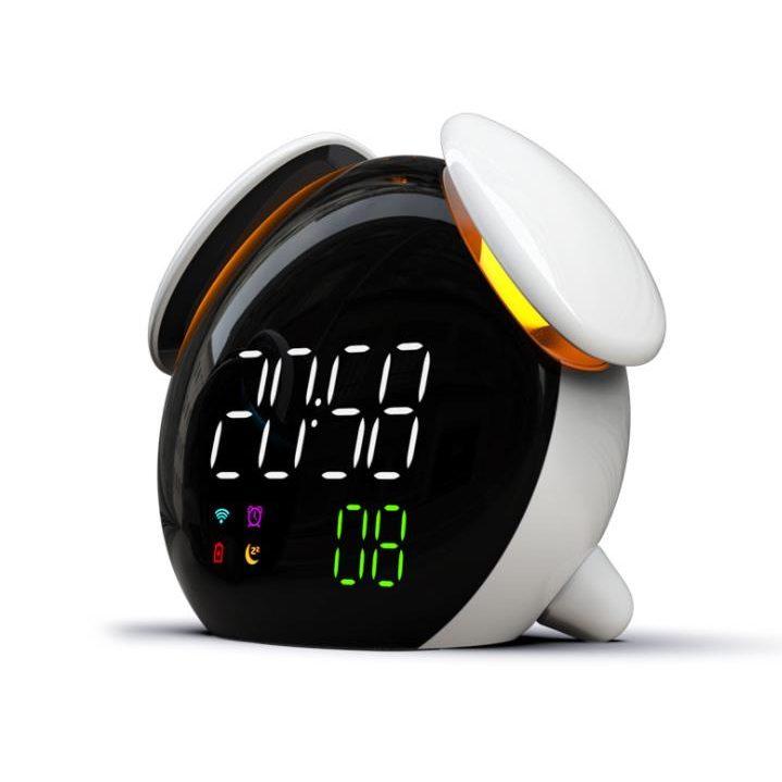 Mechanical Alarm Clock Retro Desktop Clock Round Metal Double Bell Desk Table Digital Clock Modern Home Decor Firm In Structure Alarm Clocks